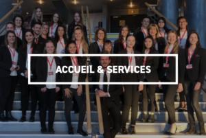 Société de sécurité - Accueil & Service